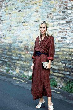 Lellavictoria.com: Vintage Dressing Gown