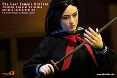 onesixthscalepictures: Phicen THE LAST FEMALE STUDENT : Latest product news for 1/6 scale figures (12 inch collectibles).