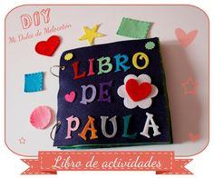 Libro de actividades - Quiet Book - By Paty Melocoton