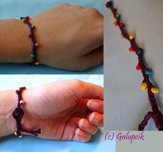 Galupcik: Brăţară împletită Beaded Bracelets, Jewelry, Fashion, Moda, Jewlery, Jewerly, Fashion Styles, Pearl Bracelets, Schmuck