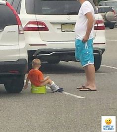 """People Of Walmart - """"Training never takes a day off."""""""