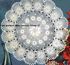 Rose of Erin doily free vintage crochet doilies patterns
