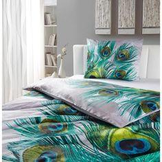 Wundervolle Bettwäsche mit Pfauenmotiv: ein echter Traum!