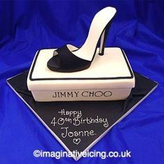 Stiletto High Heel Shoe Birthday Cake