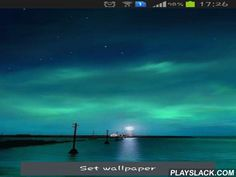 Dynamic Aurora  Android App - playslack.com , Dynamic Aurora - supernatural live wallpapers with beautiful scenery. You can see a sea light far away, which lightens the line with its shimmer, and tiny movements give the feeling of disposition and harmony.