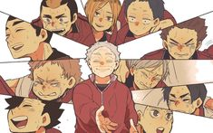 Just a tons of Haikyuu photos. ©Credit to all the artist! Manga Haikyuu, Haikyuu Nekoma, Kuroo Tetsurou, Haikyuu Funny, Kageyama Tobio, Haikyuu Fanart, Karasuno, Manga Anime, Kagehina