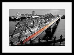 Ottawa Photography Alexandra Bridge To Gatineau Print Fine Home Wall Decor…