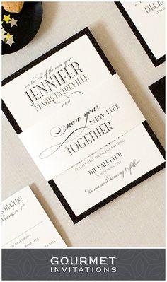 New years eve in paris invitations confetti paris invitations new years eve formal wedding invitations solutioingenieria Choice Image