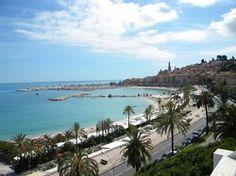 Vakantiehuis Appartement Promenade de la Mer - Menton - Cote d'Azur - Alpes Maritimes Zuid Frankrijk - Zwembad gedeeld
