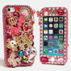 "(( Style # 783 )) This Bling case can be made for all iPhone 6 (4.7"") models. Our professional designers can handcraft a case for you in as little as 2 weeks. Click image for direct link"