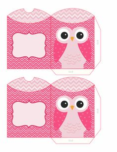 pink owl boxes