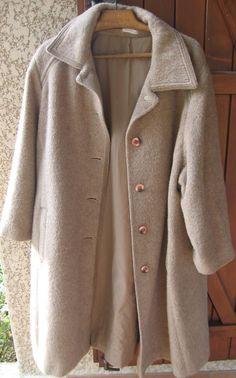 textile toxique Manteau femme en lama