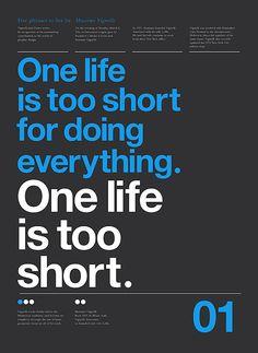 Massimo Vignelli, a life too short