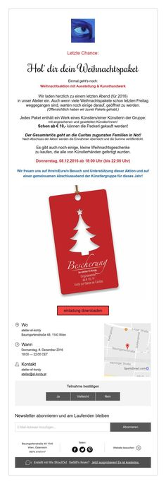 Letzte Chance:    Hol' dir dein Weihnachtspaket