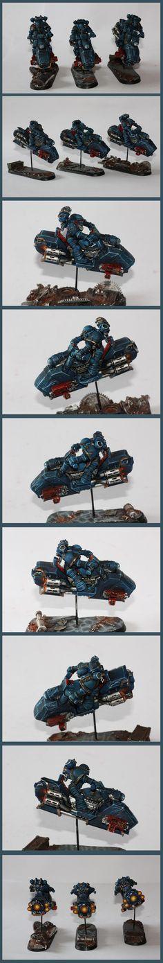 Night lords Pre-Heresy Jetbike