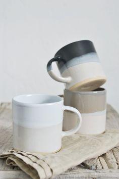 Tonal mug: Linen - K