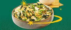 Gourmetsalade: gegrilde courgette met Parmezaanse kaas, citroen en hazelnoot I Love Food, Sprouts, Barbecue, Green Beans, Potato Salad, Food And Drink, Potatoes, Vegetables, Ethnic Recipes
