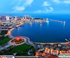 """Qingdao, China: Qingdao is a city in #China. The city's name means """"Green Island"""", indicating its lush greenery. Qingdao is a major #sea port, naval #base, and #industrial centre. It is also home to the world's longest sea bridge, the #Jiaozhou Bay Bridge. Top places to visit are Mount #Lao, Great Wall of #Qi and Qingdao #Underwater World.   #qingdao #greenisland #jiaozhoubaybridge #travelcenter #travelagentsuk #flightsfromuk #flightstochina #cheapflightstoqingdao   ☎ Call Now: 0203 515 9008"""