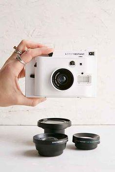 Lomography LomoInstant Camera + 3 Lenses Set - Urban Outfitters
