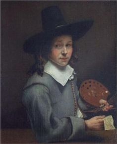 Aelbert Cuyp. self portrait as a boy.