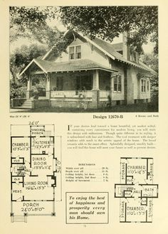 Granny pods floor plans Granny pods kits Potential Floor plan for Five Acres - expanded Craftsman Style Bungalow, Craftsman Bungalows, Craftsman House Plans, Small House Plans, House Floor Plans, The Plan, How To Plan, Architecture Design, Classical Architecture