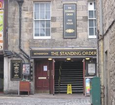 The Standing Order, Edinburgh, Scotland