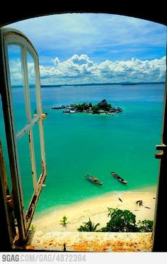 Lengkuas island, Indonesia.