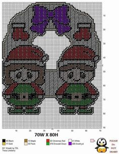 Plastic Canvas Letters, Plastic Canvas Ornaments, Plastic Canvas Crafts, All Cartoon Characters, Christmas Crafts, Christmas Patterns, Christmas Stuff, Merry Christmas, Canvas 5