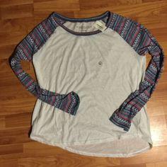Baseball T-Shirt Never worn. Aeropostale Tops