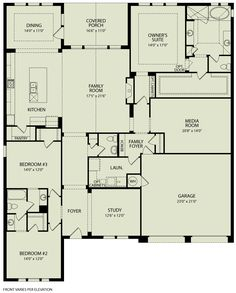 Plan Out The Interior Layout Of The TINSLEY With The Interactive Floor Plans  Application By Drees Homes.