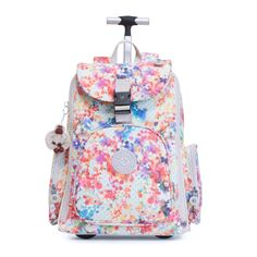 Alcatraz II Printed Laptop Backpack - Garden Happy | Kipling
