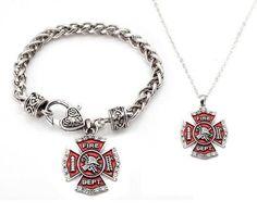 FIREFIGHTER wife jewelry
