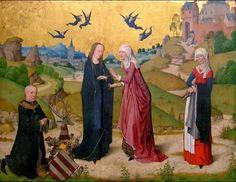 The Visitation, Meister des Marienlebens