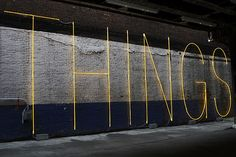 "Neon ""THINGS"" by Martin Creed"