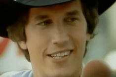 Young George Strait in His True Prime in 'Nashville on the Road' Country Music Stars, Country Singers, Young George Strait, Strait Music, Easton Corbin, Burt Reynolds, Justin Moore, Jake Owen, Florida Georgia Line