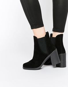 ASOS - ELLIE - Bottines chelsea en daim
