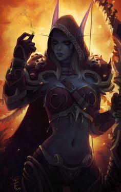 World of Warcraft Art Fantasy Art Women, Dark Fantasy Art, Fantasy Girl, Fantasy Artwork, World Of Warcraft Characters, Fantasy Characters, Character Inspiration, Character Art, Character Design
