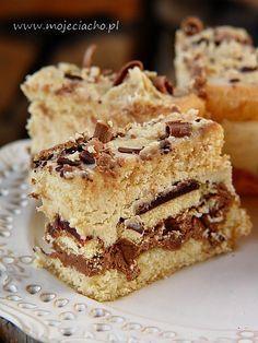 Polish Desserts, Polish Recipes, Sweet Recipes, Cake Recipes, Dessert Recipes, Polish Cake Recipe, My Favorite Food, Favorite Recipes, Vegan Junk Food