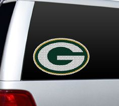 NFL Green Bay Packers Die Cut Window Film. For product info go to:  https://www.caraccessoriesonlinemarket.com/nfl-green-bay-packers-die-cut-window-film/