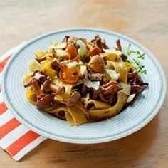 Pappadelle with Chanterelles