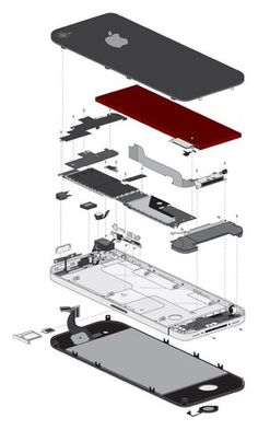 Cell Phone Repair Albuquerque >> Inside Iphone 4s Components 4 Internal Parts Diagram in ...