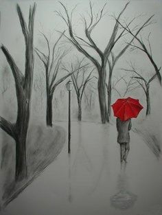 Rainy Day- Pencil Art
