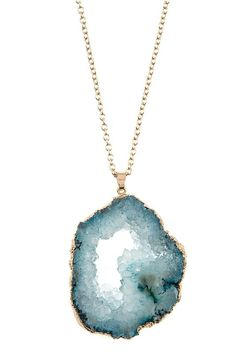 OBSESSED with this new Natural Stone Pen...!!  Order it today with FREE SHIPPING at http://wildtyboutique.com/products/natural-stone-pendant-necklace?utm_campaign=social_autopilot&utm_source=pin&utm_medium=pin