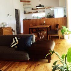 yumikoさんの、無印良品,照明,IKEA,観葉植物,植物,リビング,のお部屋写真