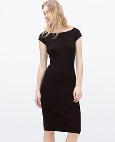 Image 2 of V-BACK RAYON DRESS from Zara