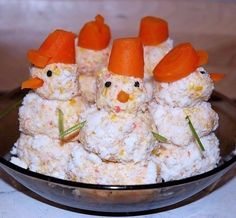 Идеи оформления блюд на новогодний стол