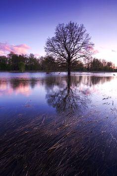 Flooding in the Nizhny Novgorod region