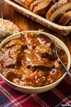 The dish serves as an ultra-satisfying, incredibly simple meal. We promise that it will become a new family favorite. As a bonus, stews are a snap to store overnight or freeze for days, so stock up! 10 SP