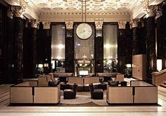 Onyx Lounge, St. Francis Hotel, San Francisco   Barbara Barry
