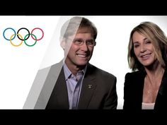 Nadia Comaneci and Bart Conner, 11 Olympic Medals in this Olympic Family Nadia Comaneci, Olympic Medals, Olympic Champion, The Girl Who, First World, Olympics, Documentaries, Interview, History